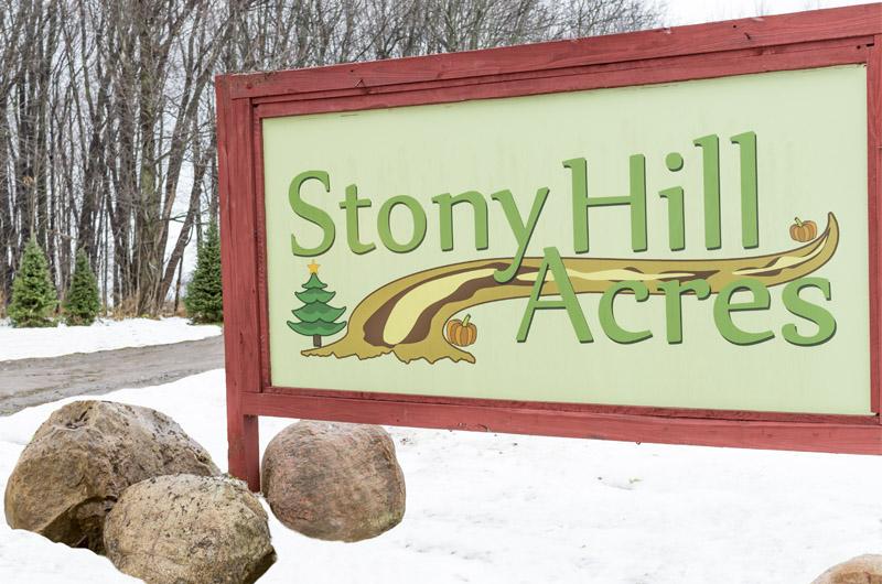 Stony Hill Acres Sign